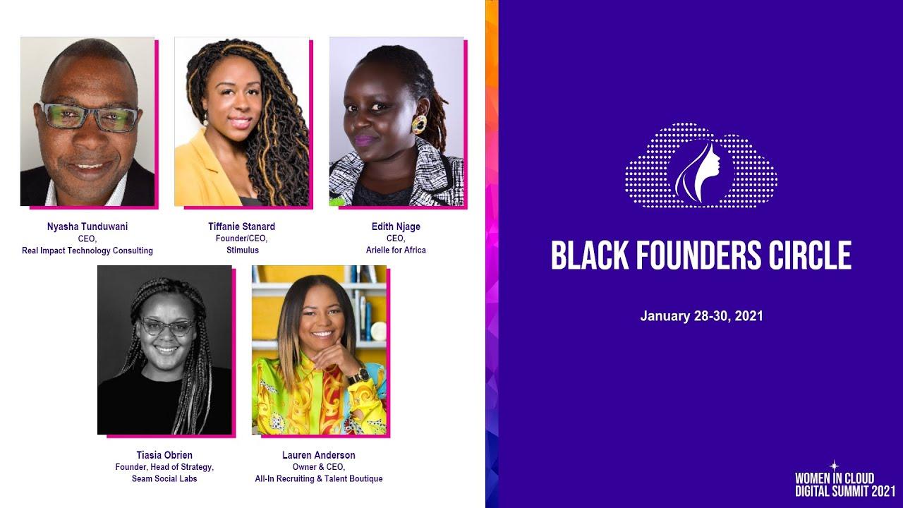 Black Founders Circle Panel